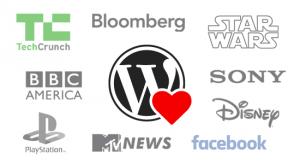 Сайты, новостные порталы и блоги мировых брендов на WordPress